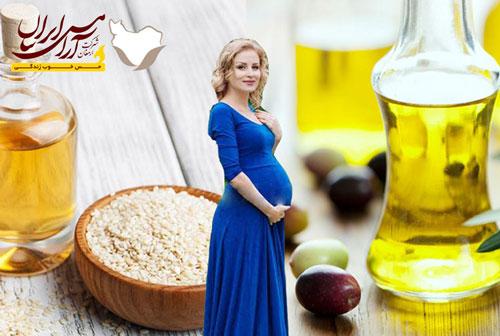 روغن ماساژ بارداری