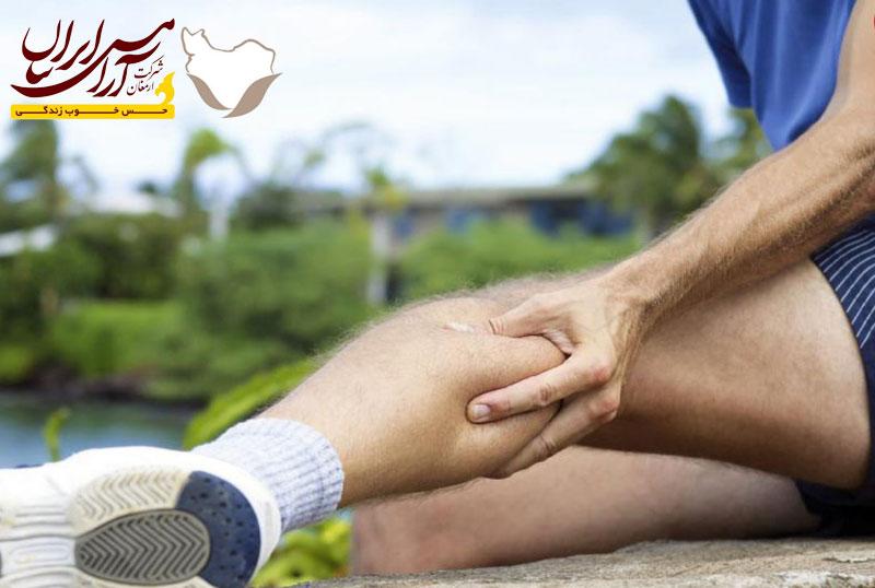 ماساژ برای گرفتگی عضلات
