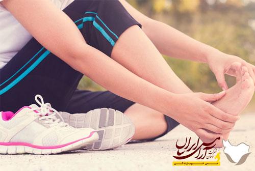 عارضه پای ورزشکار